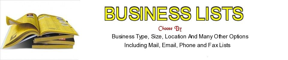 Business Marketing Lists On Barter