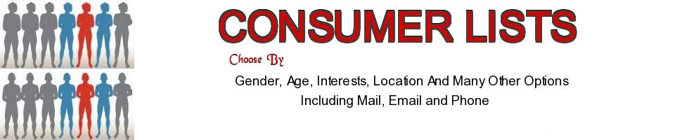 Consumer Business Marketing Lists On Barter