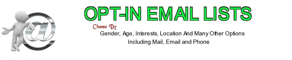 Opt in email Marketing Lists On Barter