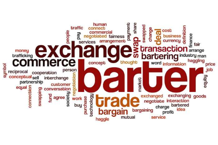 Barter, Exchange, Marketing Lists On Barter, ListsOnBarter